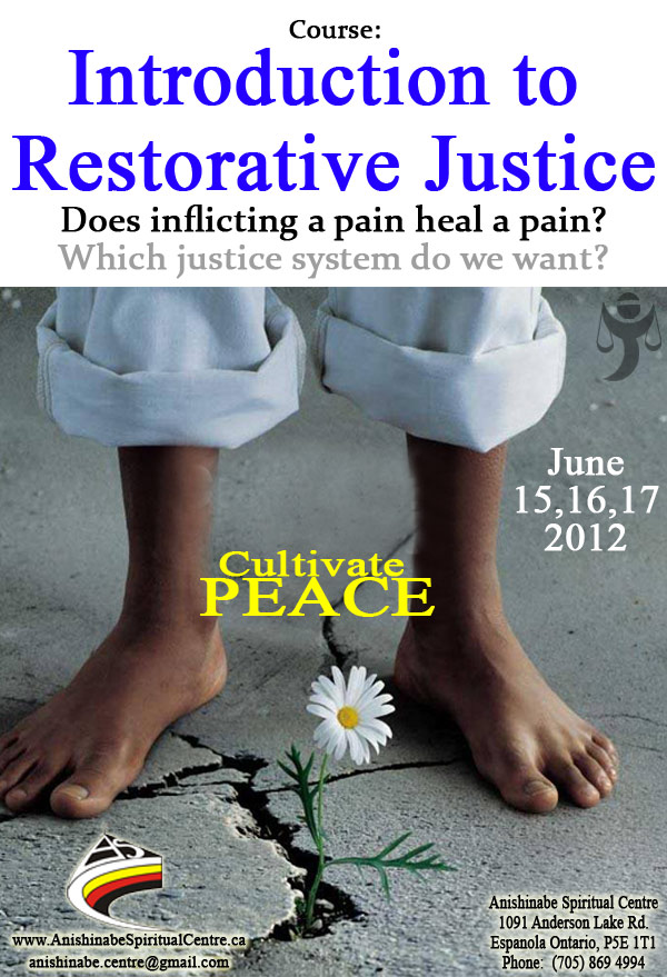 Course Introduction to Restorative Justice - Philippe Landenne, S.J.