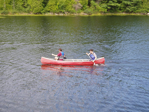 Scholastics Canoe Race 2012