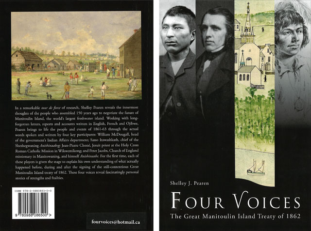 Book: Four Voices - The Great Manitoulin Island Treaty of 1862